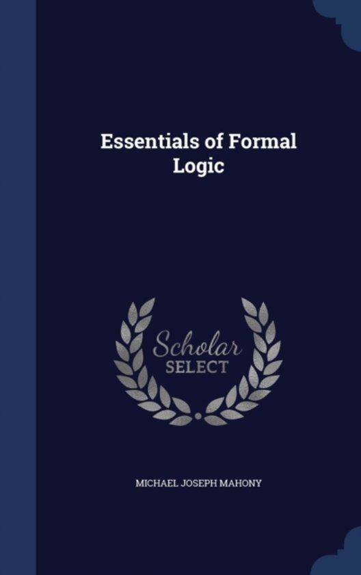 Essentials of Formal Logic
