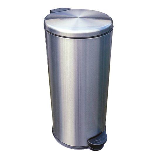 Easybin Pedaalemmer Rvs 30 Liter Met Binnenemmer.Easybin Pedaal Premium 30 L