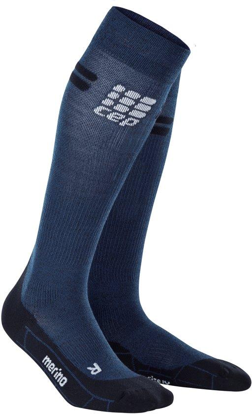 CEP pro+ run merino socks, navy/black, men V