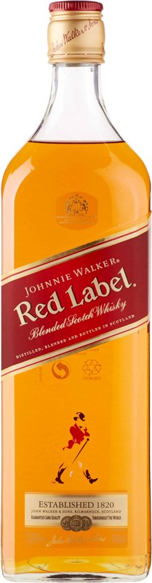Johnnie Walker Red Label Whisky - 1 L