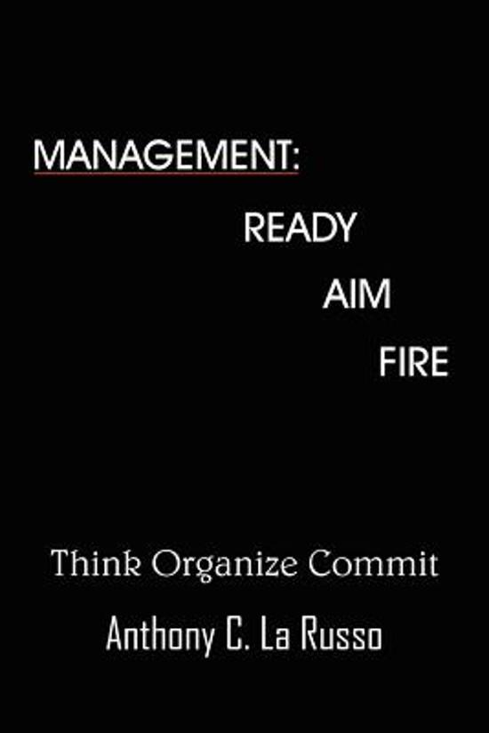 Boek cover Management van Anthony C. La Russo (Paperback)