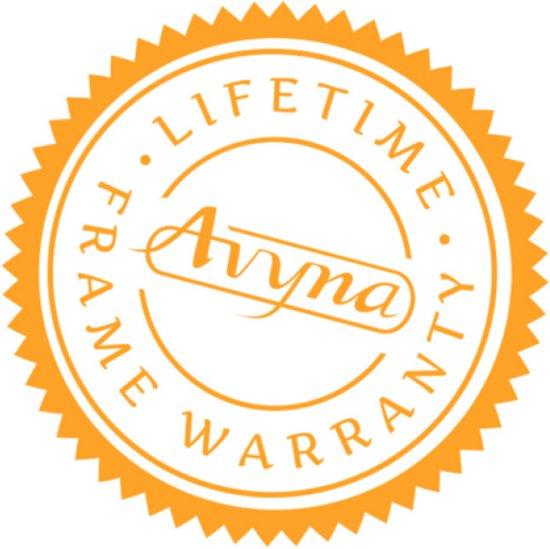 Avyna trampoline PRO-LINE 08 + net boven + ladder - grijs