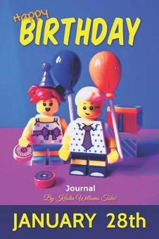 Happy Birthday Journal January 28th