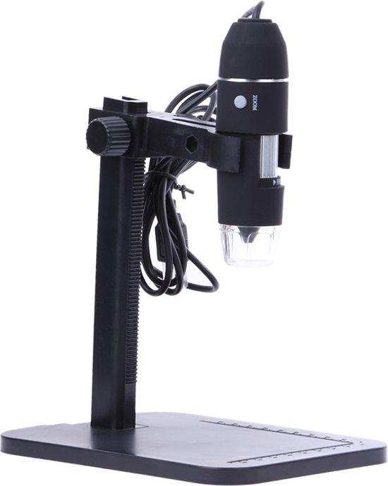 Afbeelding van Digitale USB Microscoop Camera - Microscoop Camera - Met Vergrootglas - Met LED Verlichting - 1000x Vergroting