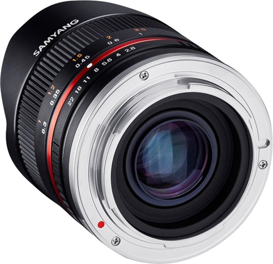 Samyang 8mm f/2.8 Fisheye Fujifilm zwart