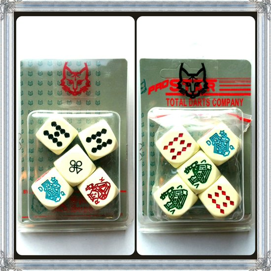 Set poker dobbelstenen