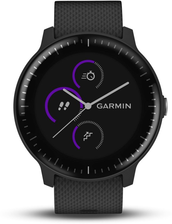 Garmin Vivoactive 3 Music - Smartwatch - Zwart/Zwart