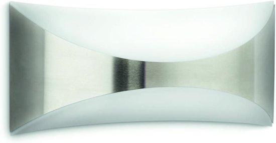 Philips myGarden Seedling - Wandlamp - 1 Lichtpunt - RVS - 1 x 1420lm