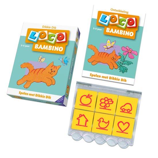 Loco Bambino / Spelen met Dikkie Dik - J Boeke