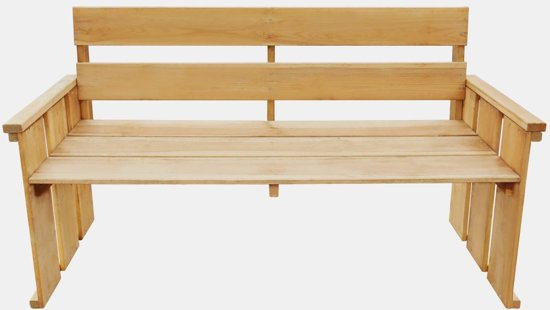 vidaXL Tuinbank 160 cm FSC geïmpregneerd grenenhout