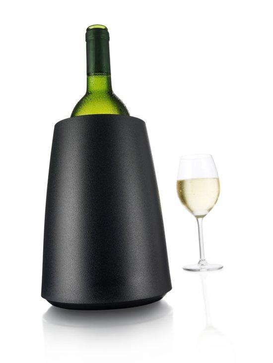 Vacu Vin Rapid Ice Wijnkoeler - Elegant Zwart