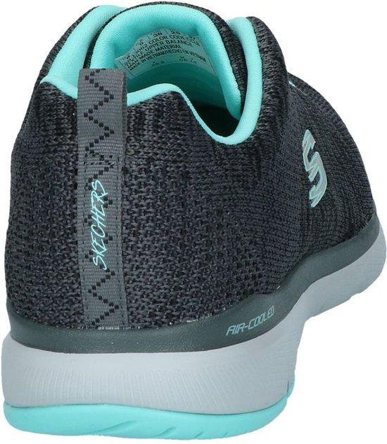 Dames Flex 3 Maat 41 Sneakers 0 Appeal Skechers Blauw Grijs q0dEEw