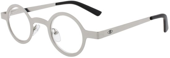 0e399868f1cf7d Icon Eyewear ICC338 The Doc Leesbril +1.50 - Glanzend zilver metaal