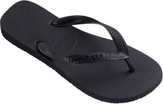 Havaianas Top Unisex Slippers - Black - Maat 29/30