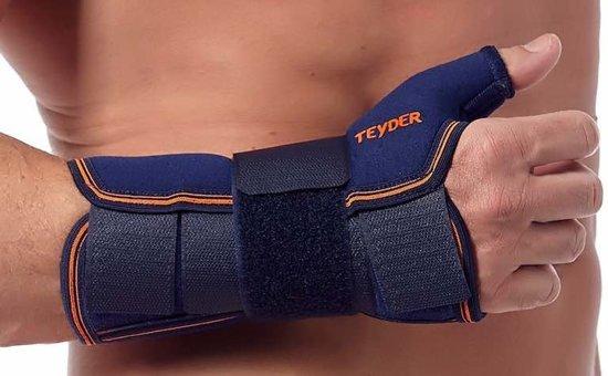 Teyder Duimbrace / Polsspalk Neopreen - Medium (omvang pols 16-17 cm) - Links - Beige