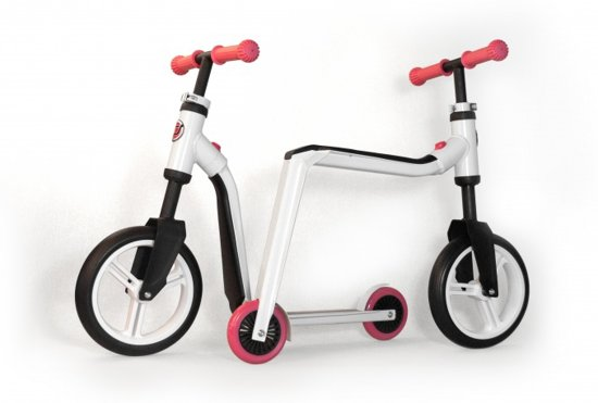 Scoot And Ride Highwayfreak - Loopfiets - Jongens en meisjes - Zwart