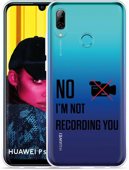 Huawei P Smart 2019 Hoesje Not recording you