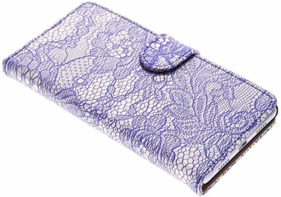 Concepteur Glamour Bleu Case Pour Booktype Lite Huawei P8 IwS7v