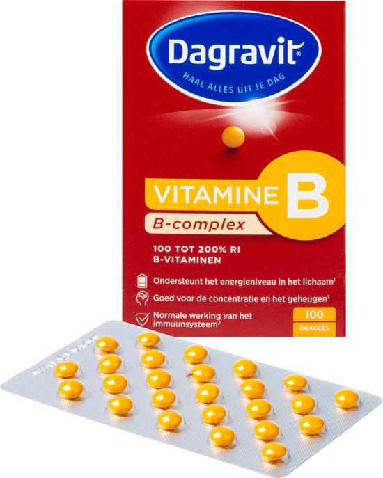 Dagravit B-Complex - 100 Tabletten - Multivitamine