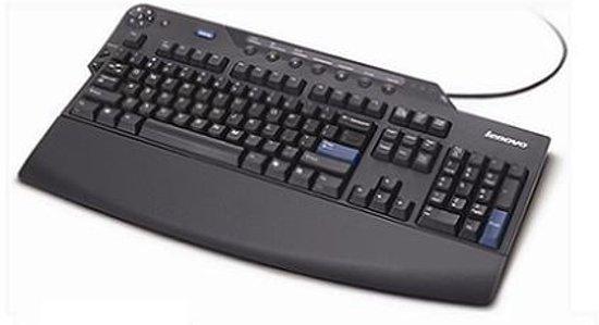 Lenovo 73P2627 USB QWERTY Deens Zwart toetsenbord