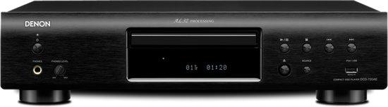 Denon DCD-720AE - CD-speler - Zwart