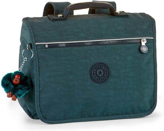 6abb58a439b bol.com | Kipling New School Rugzak - Kinderen - Emerald Combo