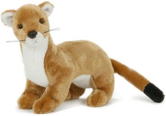 ffb71c295e74bd Pluche wezel knuffel 23 cm speelgoed- Wezels dierenknuffels/knuffeldieren/ knuffels voor kinderen