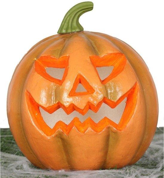 Halloween Decoratie Bestellen.Pompoen Met Licht 24 Cm Halloween Decoratie Horror Themafeest Versiering Verlichting Lampen