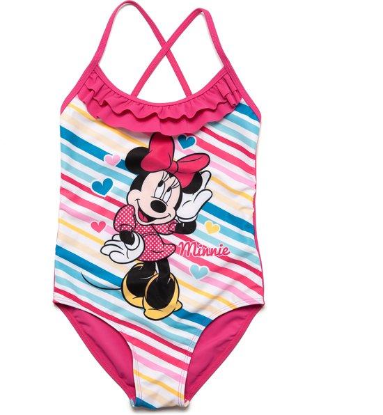 Badpak Maat 92.Bol Com Minnie Mouse Meisjes Badpak Roze Blauw Maat 92