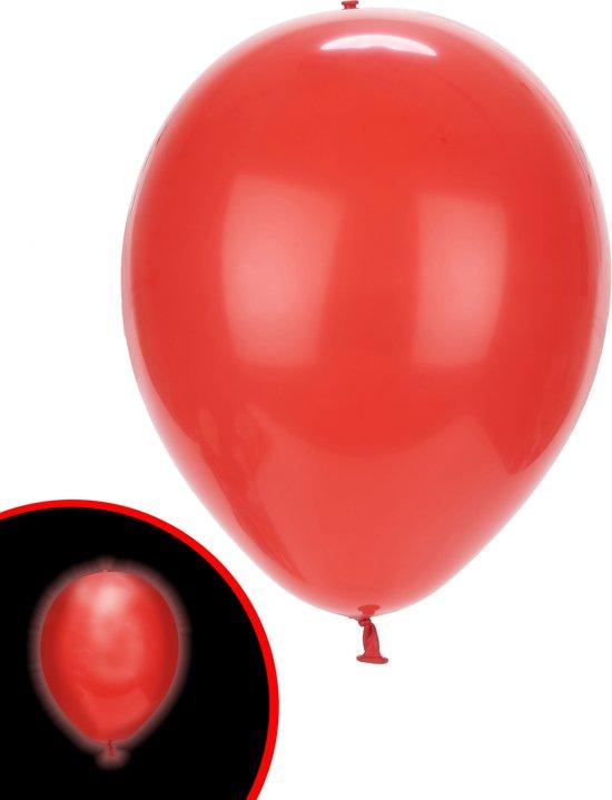 Illooms LED Ballonnen Rood - 5 Stuks Valentinaa
