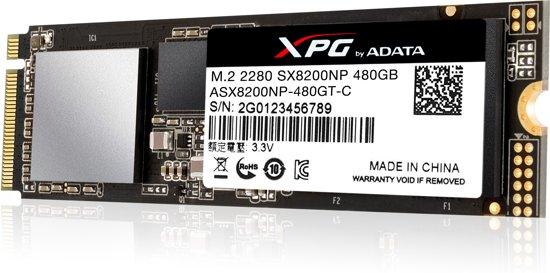 XPG SX8200 480GB M.2