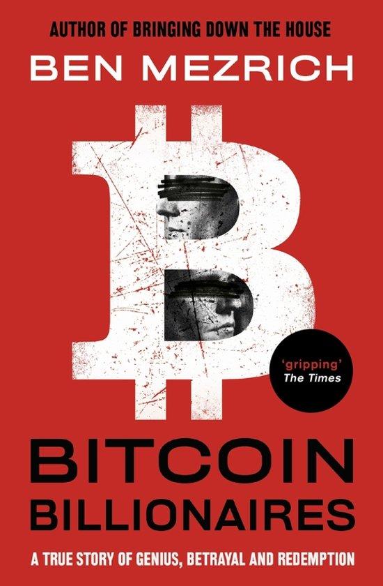 Boek cover Bitcoin billionaires van Ben Mezrich (Paperback)