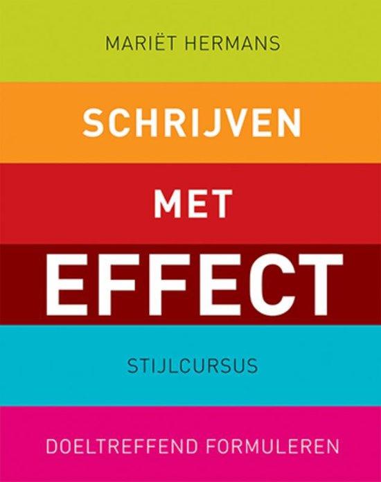 Schrijven met Effect - Stijlcursus Doeltreffend Formuleren