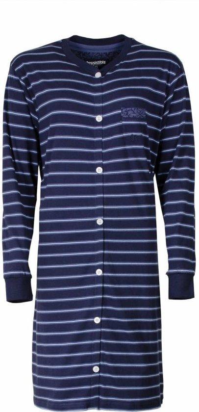 0d31e77c365 Irresistible Dames Nachthemd Slaapkleed Blauw IRNGD2606A Maten: XL