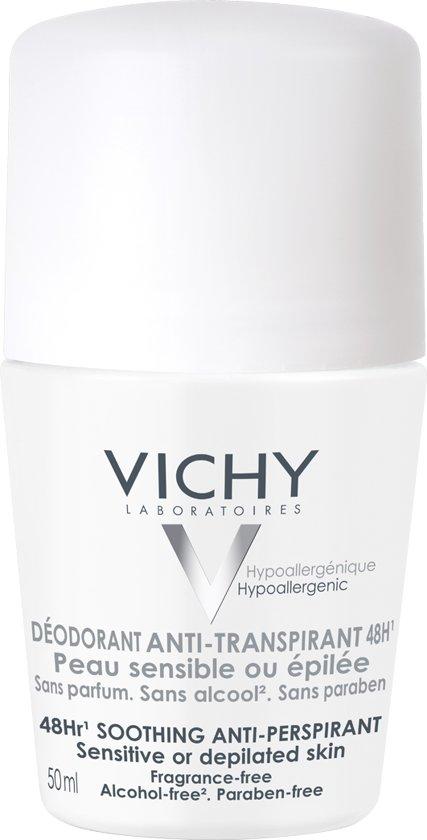 Vichy Deodorant - Gevoelige Huid Roller - 50 ml