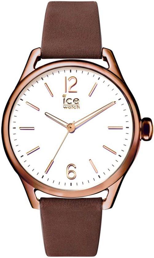 Ice-Watch IW013067 Horloge - Leer - Bruin - 32 mm