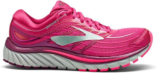 Brooks Glycerin 15  Sportschoenen - Maat 38.5 - Vrouwen - roze/grijs