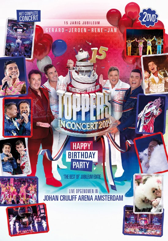 CD cover van Toppers In Concert 2019 (DVD) van Toppers