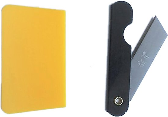 Aanbrengset raamfolie - Rakel & mes