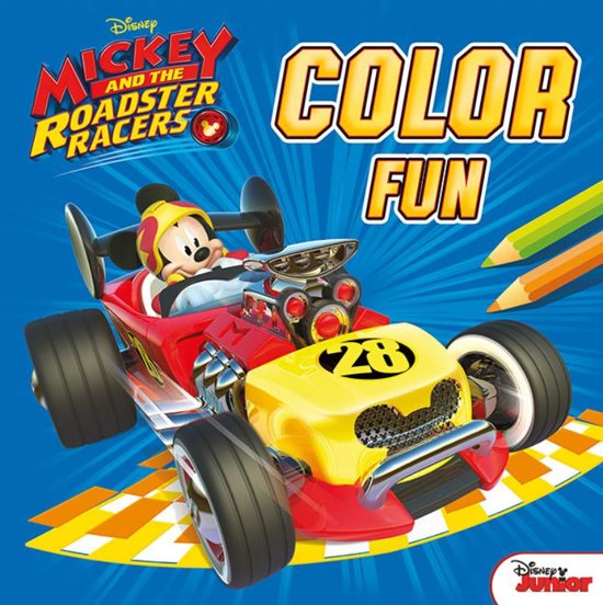 Afbeelding van het spel Disney color fun Mickey and the roadster racers