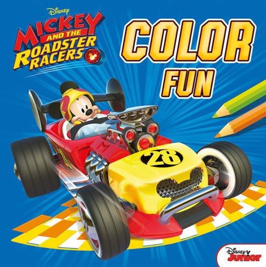 Disney Kleurboek Color Fun Mickey 22 Cm