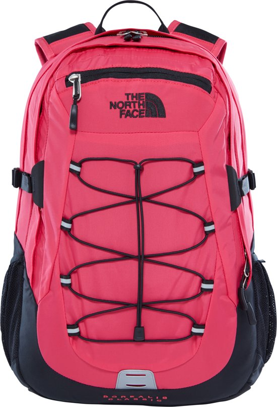 The North Face Borealis Classic Rugtas Raspberry Red/TNF Black