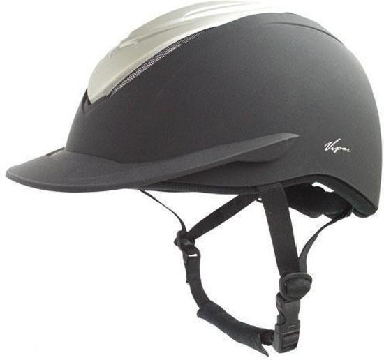 BR Viper - Veiligheidshelm - Zwart/zilver - mt. 51/54cm