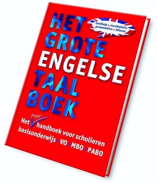 Boek cover Het Grote Engelse Taalboek - Het Grote Engelse Taalboek van Marijke van der Mark (Hardcover)