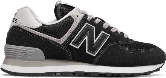 New Balance WL574 Sneakers Dames - Black - Maat 38
