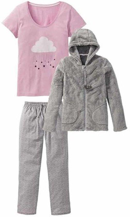 8e547dccdb1 bol.com | ESMARA Lingerie® Dames pyjama set 3-delig