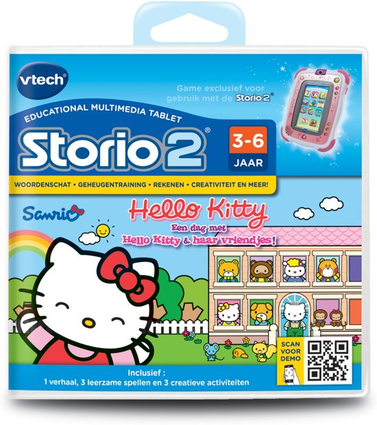 VTech Storio 2 Hello Kitty - Game