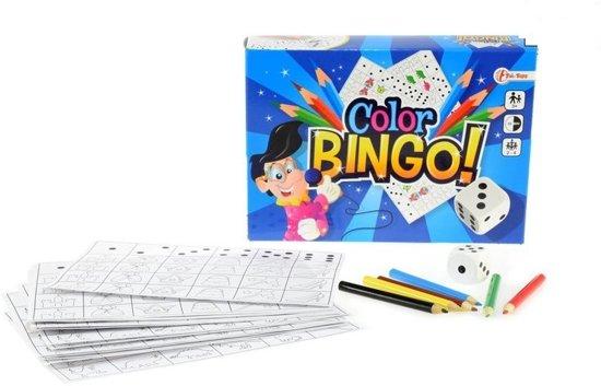 Afbeelding van het spel color bingo spel 21 cm junior