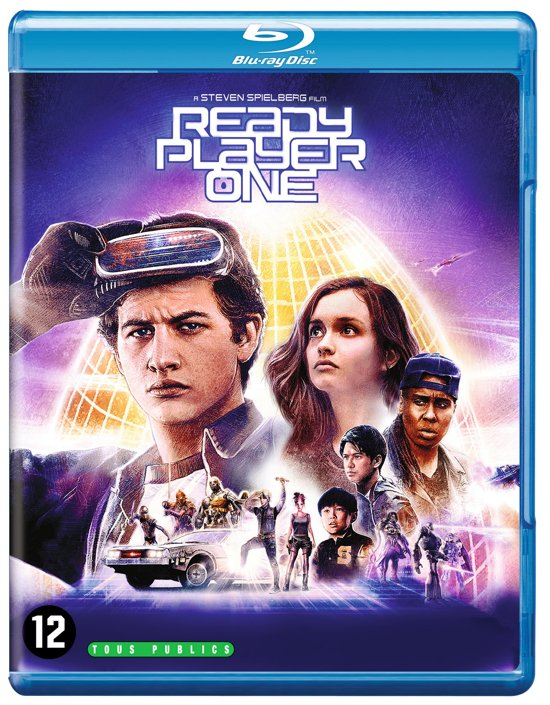 DVD cover van Ready Player One (Blu-ray)
