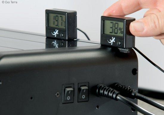 Exo Terra Digitale Thermometer Met Voeler - 0-50 C Digital